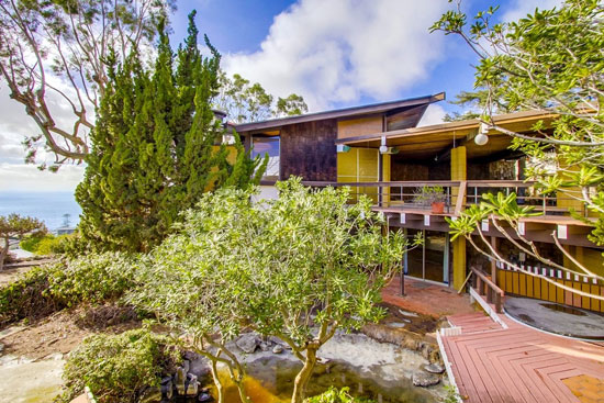 On the market: 1960s Loch Crane-designed midcentury modern property in La Jolla, California, USA