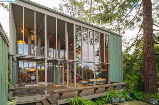On the market: 1960s Roger Lee-designed midcentury property in Kensington, California, USA