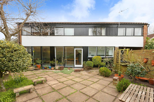 1960s modern house in High Kingdown, Bristol