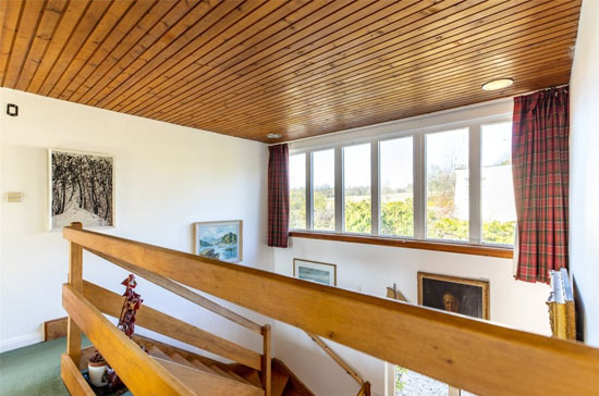 1960s Donald Downie modern house in Killearn, Stirling, Scotland