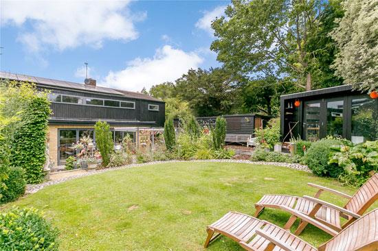 1960s Fry, Drew & Partners modernist house in Kemsing, Sevenoaks, Kent
