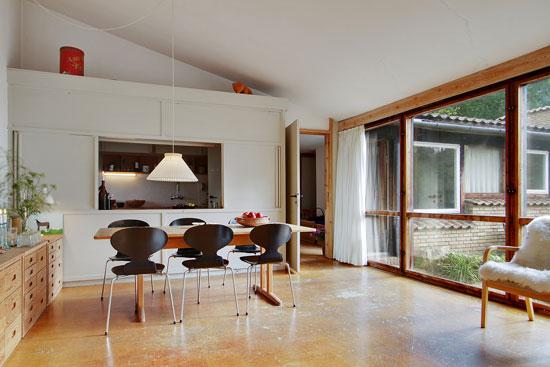 Danish modernism: 1950s Jorn Utzon-designed modernist property in Helsingor, Denmark