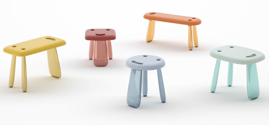 Kartell introduces its first-ever kids collection