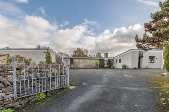 1960s modernism: Empson Hill property in Kendal, Cumbria