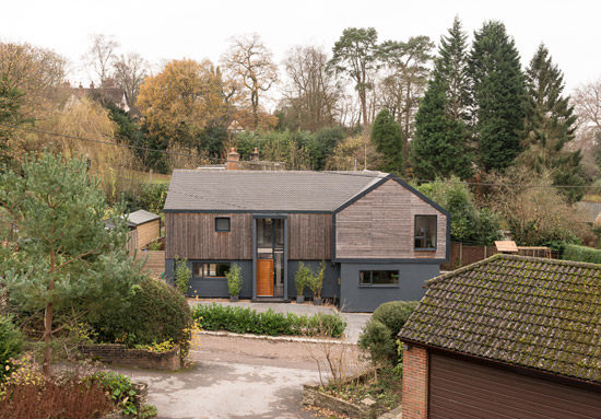 Kate Stoddart-converted modernist property in Ewshot, near Farnham, Surrey