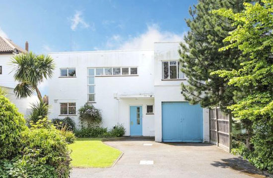 On the market: 1930s Eugen Carl Kaufmann-designed modernist property in Angmering-on-Sea, West Sussex