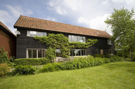On the market: 1970s Anne Parker-designed five-bedroom detached property in Kelsale, near Aldeburgh, Suffolk