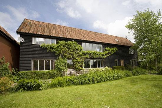 On the market: 1970s Anne Parker-designed five-bedroom detached property in Kelsale, near Aldeburgh, Suffolk