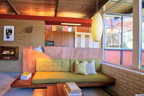 Preserved midcentury modern: 1950s Kemper Nomland-designed property in Altadena, California, USA