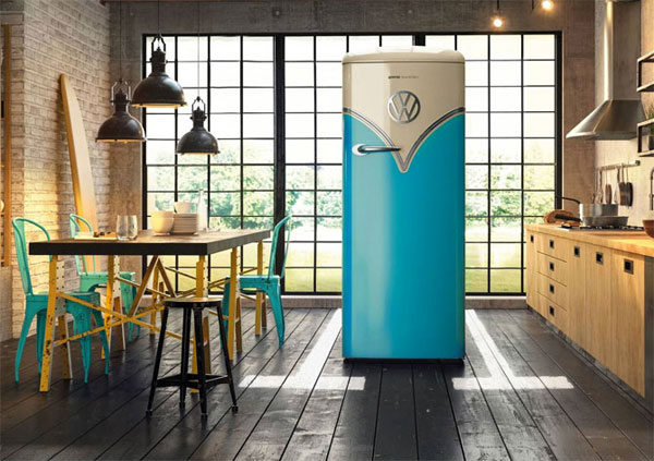 Design spotting: Gorenje special edition VW Camper Van fridge