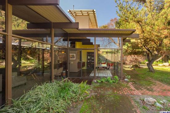 1950s Midcentury modern gem: The Ken McLeod Residence in Claremont, California, USA
