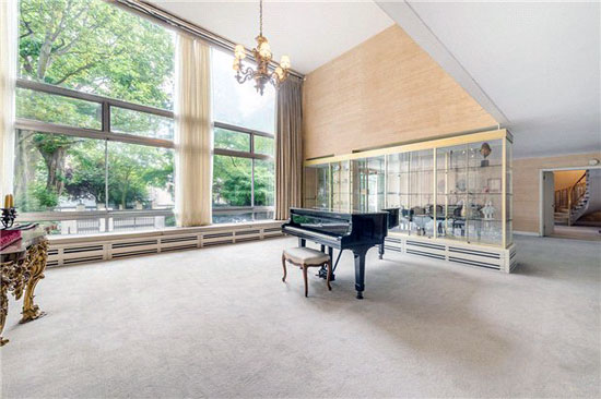 On the market: Five-bedroom duplex apartment in Kensington Palace Gardens, London W8