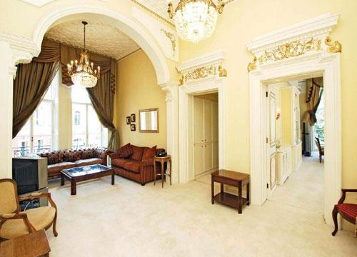 Four-bedroomed flat at Kensington Gore, London SW7