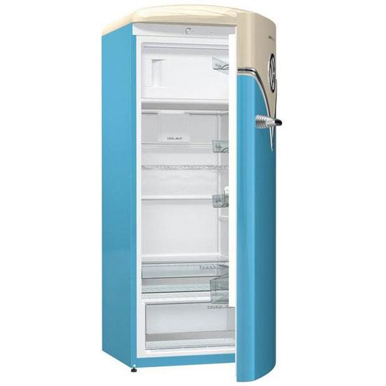 design spotting gorenje special edition vw camper van fridge. Black Bedroom Furniture Sets. Home Design Ideas