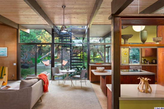 1950s Midcentury modern gem: The Ken McLeod Residence in Claremont, California, USA