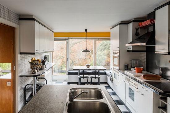 1950s Kenneth Proctor modern house in Holymoorside, Derbyshire