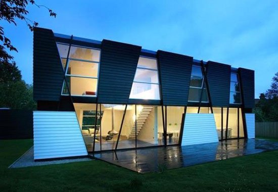 Back on the market: Trish House contemporary modernist property in Yalding, near Maidstone, Kent