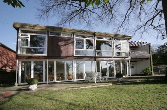 On the market: 1960s Roy Hickman-designed three-bedroom house in Keston, Kent