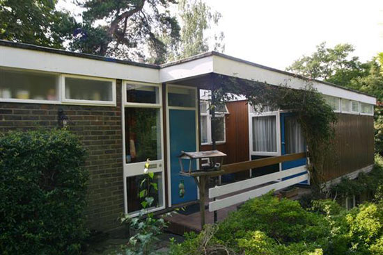 1950s Roy Hickman-designed four-bedroom midcentury property in Keston, Kent