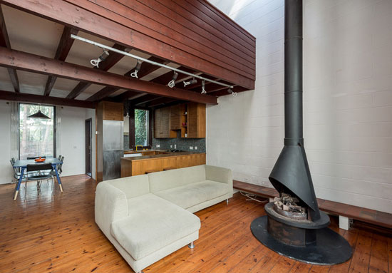 1970s Peter Beaven-designed house and artist's studio in London N6