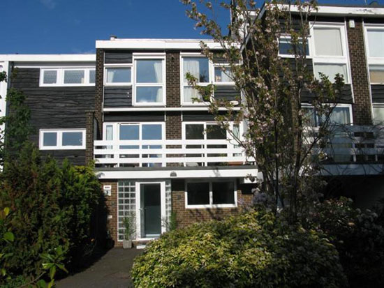 On the market: 1960s architect-designed town house in Coombe, Kingston upon Thames, Surrey