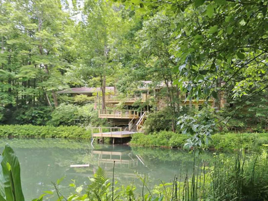 On the market: 1960s waterside midcentury modern property in Atlanta, Georgia, USA