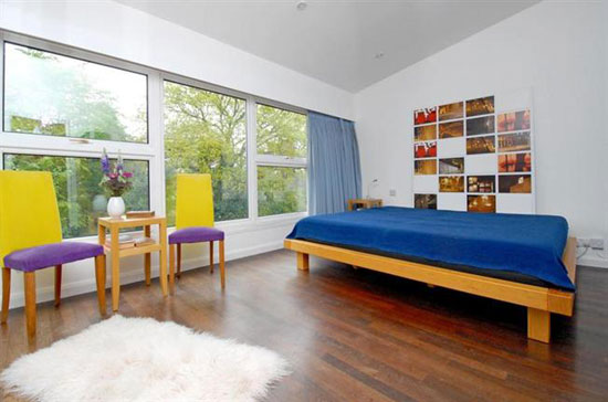 1960s architect-designed town house in Coombe, Kingston upon Thames, Surrey