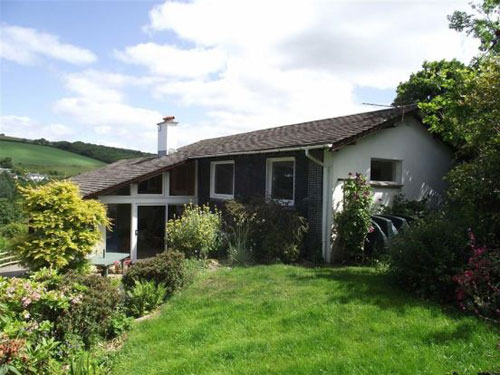 On the market: 1960s Langman's Quarry four-bedroomed house in West Buckland, Kingsbridge, Devon