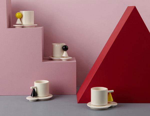 Design K introduces its latest Bauhaus-inspired ceramics range