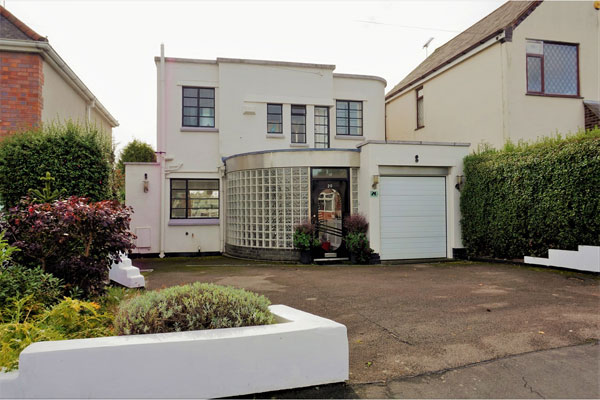 Ted Wilford art deco property in Earl Shilton, Leicestershire