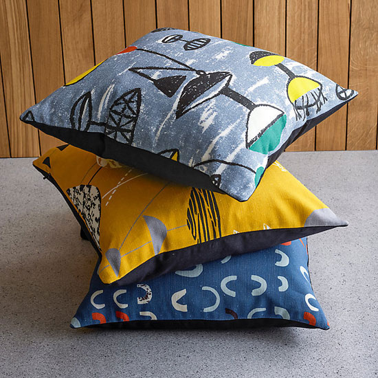 In the sales: Lucienne Day cushions at John Lewis
