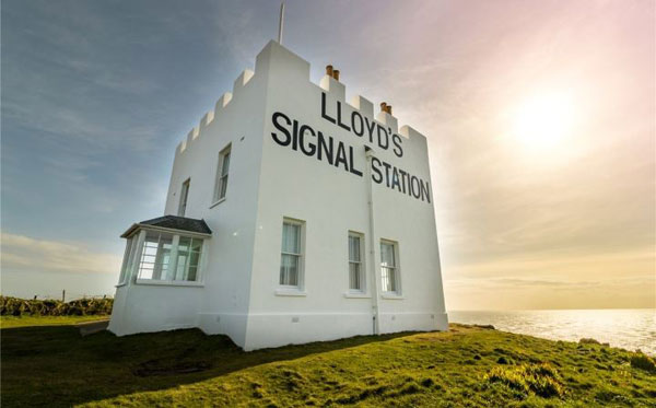 Lloyd's Signal Station on the Lizard Peninsula, Cornwall