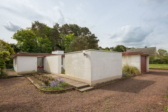 1960s modernism: Douglas Laird-designed property in Dunbar, East Lothian, Scotland