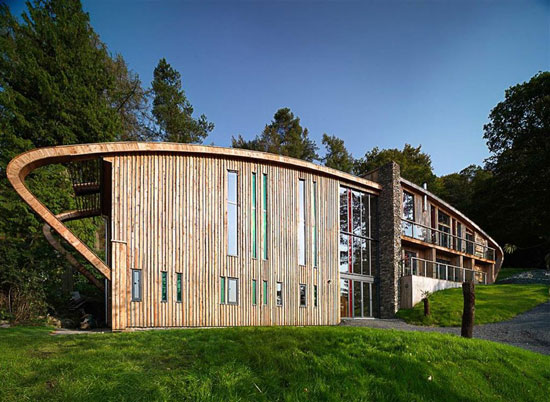 Dome House contemporary modernist property in Bowness-on-Windermere, Cumbria