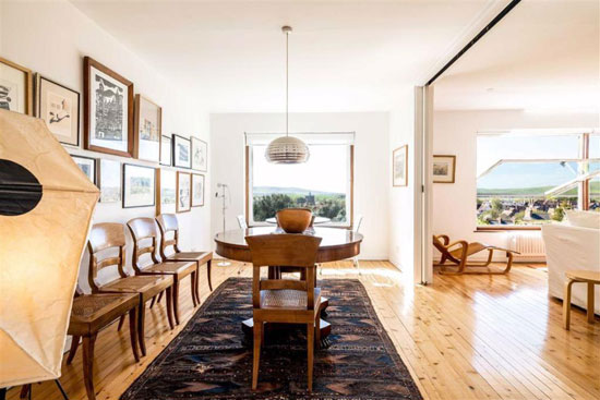 1960s Wycliffe Stutchbury midcentury modern house in Lewes, East Sussex