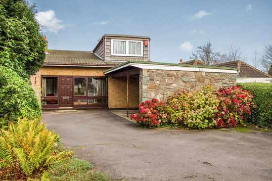 On the market: 1960s architect-designed property in Glenfield, Leicestershire