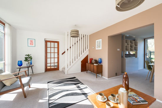 1960s Eric Lyons-designed property on the Lambardes Span estate, New Ash Green, Kent