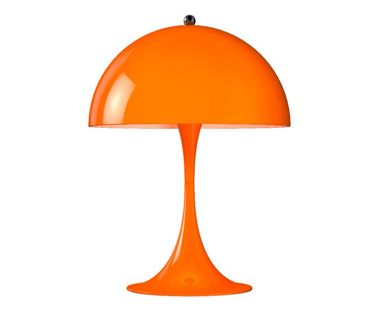 Louis Poulsen issues a miniature version of the classic Verner Panton-designed Panthella lamp
