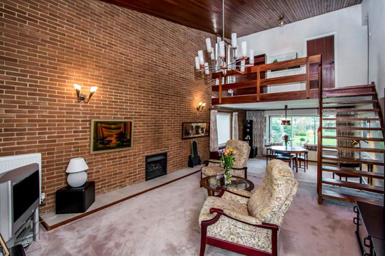 1960s architect-designed property in Glenfield, Leicestershire