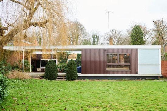 1950s midcentury modern house in Richmond, Surrey