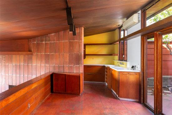 The John Lautner Residence in Los Angeles, California, USA