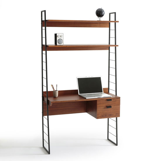 midcentury interior watford modular shelving system at la redoute. Black Bedroom Furniture Sets. Home Design Ideas