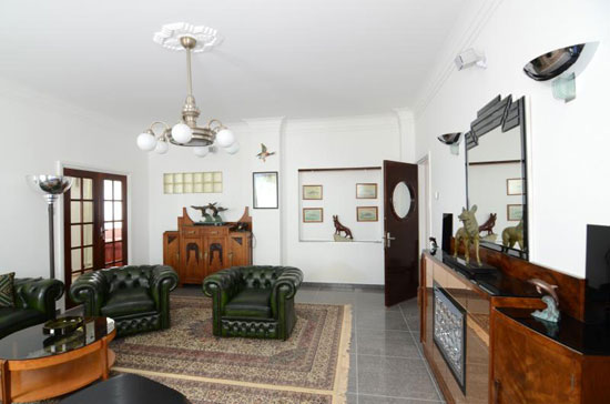 Holiday let: Art deco-style Filter House in Ladock, Cornwall