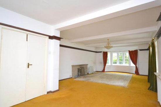 Four-bedroom 1930s art deco property in Laleham, Surrey