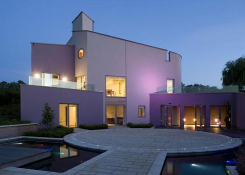 On the market: Marsh Grochowski-designed four-bedroomed contemporary property in Lambley, Nottinghamshire