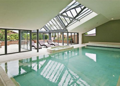 Marsh Grochowski-designed four-bedroomed contemporary property in Lambley, Nottinghamshire