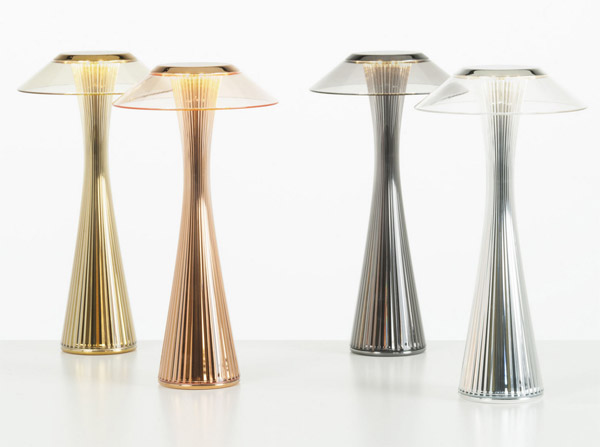 Architecture meets design: Kartell Space table lamp