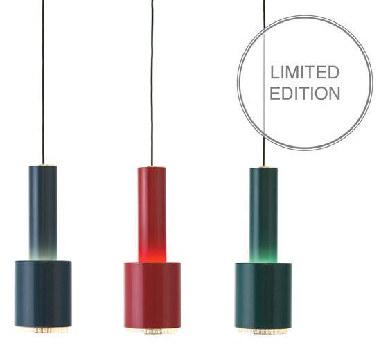 Alvar Aalto A110 Pendant Lamp for Artek back as a limited edition