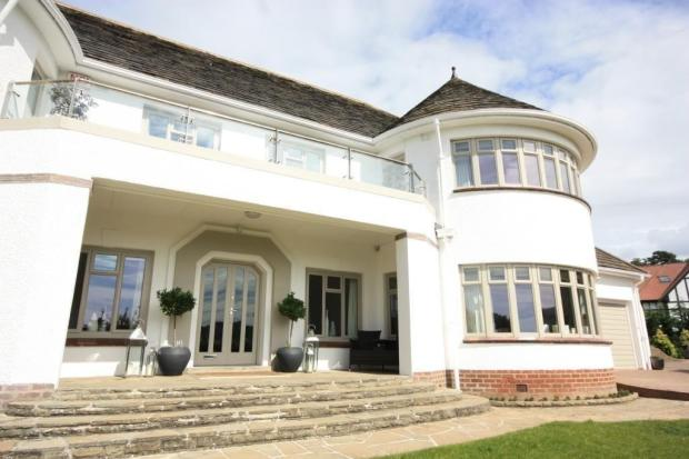 On the market: 1930s Sir Bertram Clough Williams-Ellis-designed house in Llandudno, North Wales