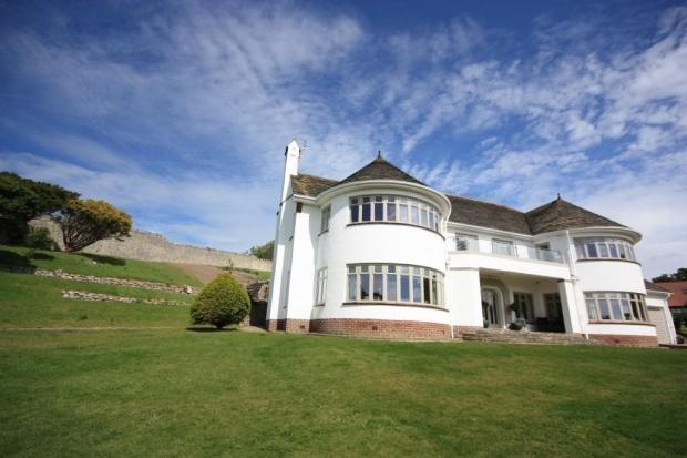 1930s Sir Bertram Clough Williams-Ellis-designed house in LLandudno, North Wales